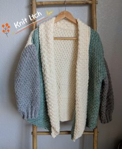 Modified Yarnspiration Cocoon Cardigan