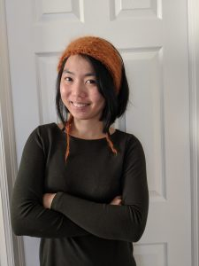 Loopy Mango Headband with Mohair So Soft