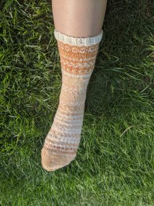 Clairedelune Sock by thepetiteknitter