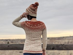 Snøfrost Jumper by the petite knitter